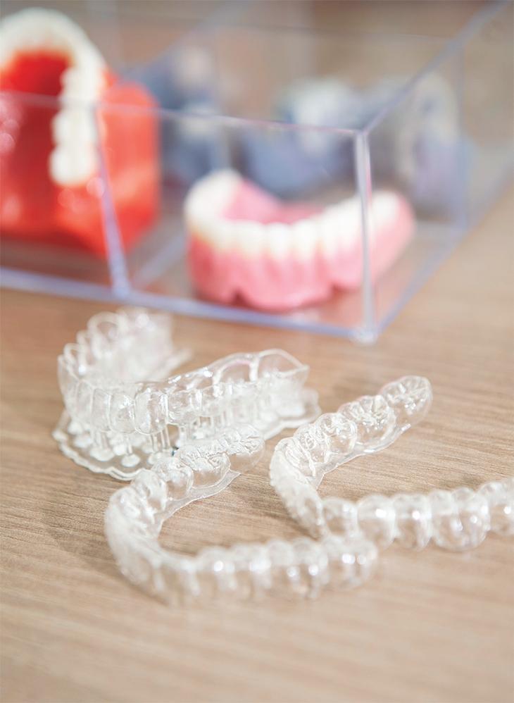 3D프린터로 만든 치아 교정장치