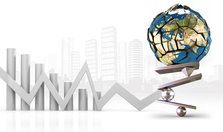 세계 경제 그래픽 이미지