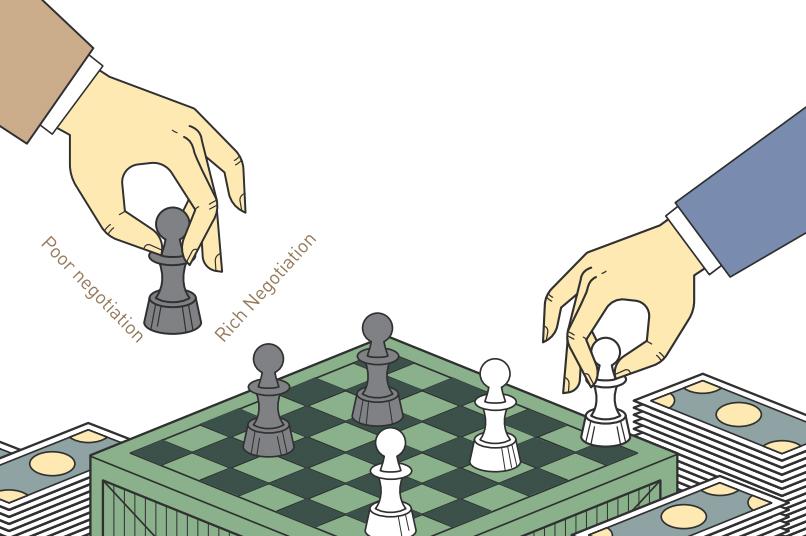 협상의 기술 일러스트