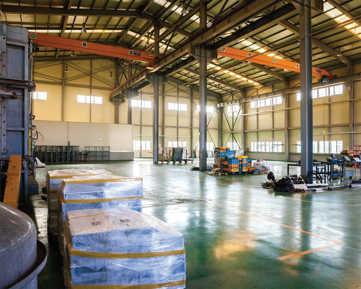예전 공장 모습