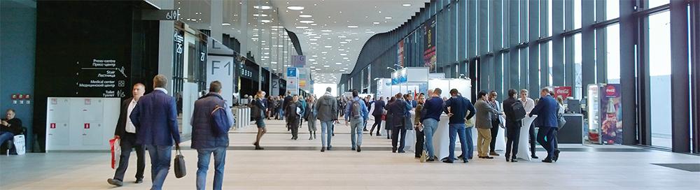 러시아 국제의료관광박람회 2021 전경