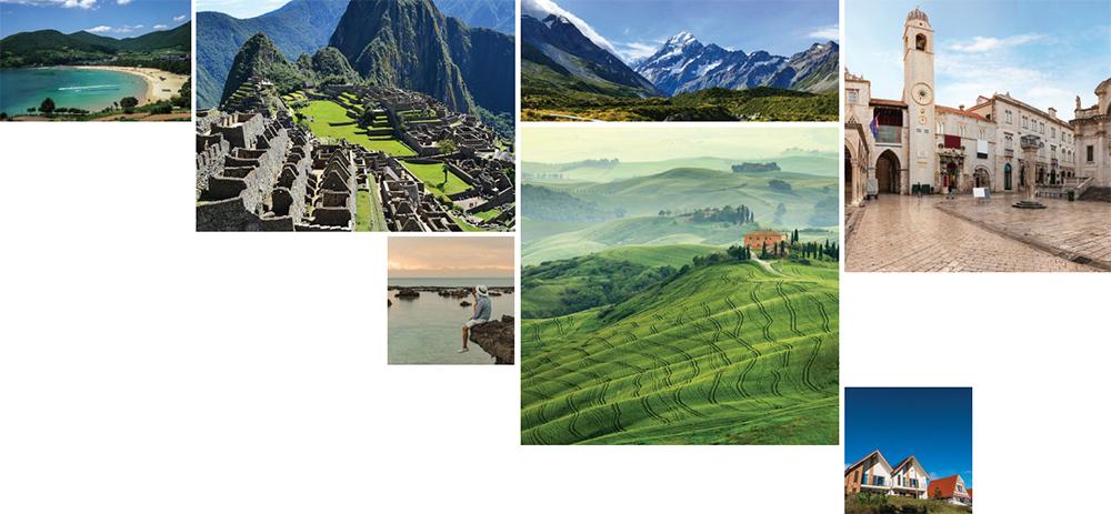 세계 각국의 여행지 사진들